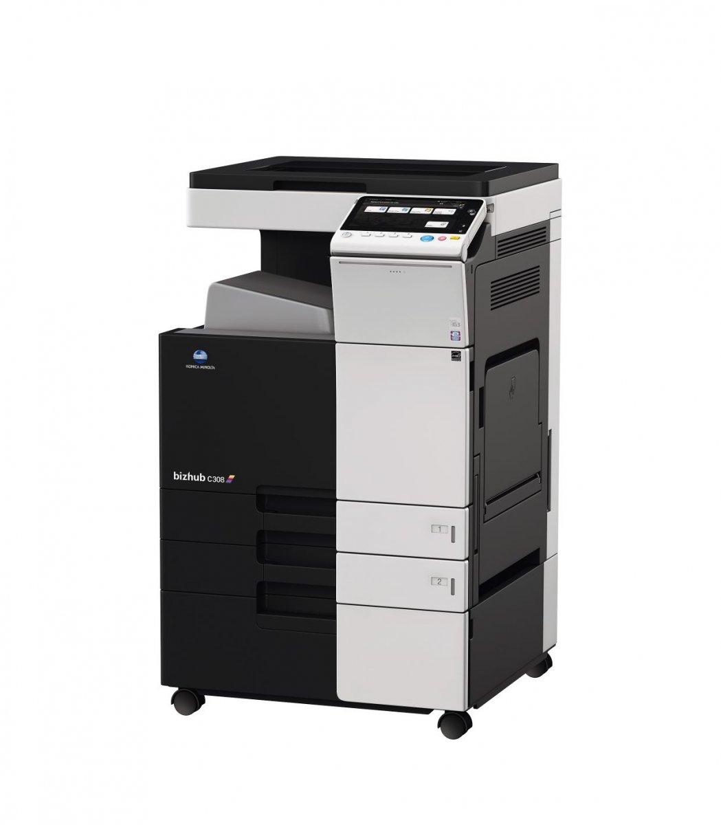 Konica Minolta Sistem de printare color Konica Minolta Bizhub C308