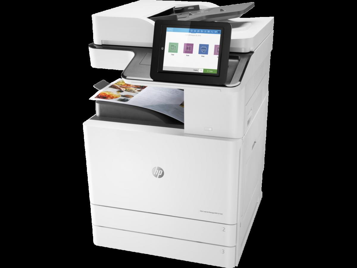 HP Multifunctionala color HP Color LaserJet Managed MFP E77422dn